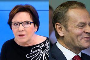 """Ewa Kopacz zapewnia: """"Donald Tusk wróci do świata polskiej polityki"""""""