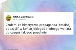 Ziemkiewicz o mężczyźnie, który podpalił się w Warszawie