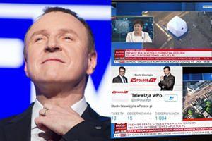 TVP nadała na żywo sygnał z prywatnej stacji braci Karnowskich...