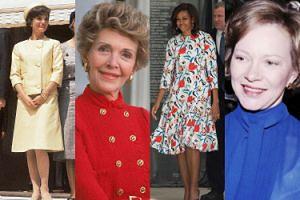 Najlepiej ubrane Pierwsze Damy USA (ZDJĘCIA)