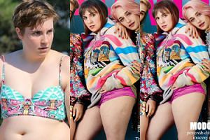 "Polski ""Glamour"" wyretuszował cellulit Leny Dunham! (FOTO)"
