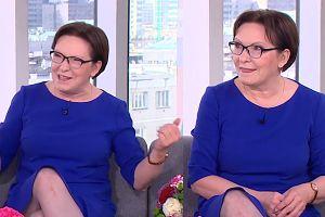 """TVN pyta, jaką teściową jest Ewa Kopacz?  """"Zięć był bardzo wystraszony spotkaniem ze mną"""""""