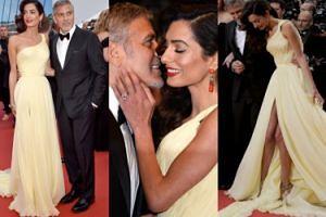 Amal i George Clooney na czerwonym dywanie w Cannes! (ZDJĘCIA)
