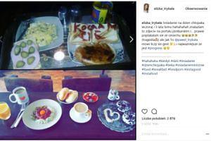 """Eliza z Warsaw Shore chwali się śniadaniem na Dzień Chłopaka: """"Najważniejsze, że  proges"""" (FOTO)"""