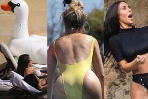 Tak Kardashianki odpoczywały na Kostaryce (ZDJĘCIA)
