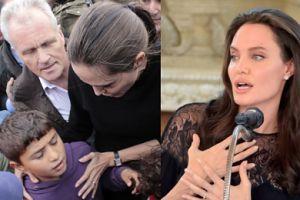 """Angelina Jolie o imigrantach: """"Nastały bardzo mroczne czasy. Byłam ignorantką!"""""""