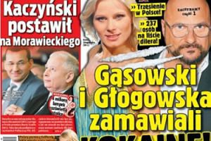 """""""Super Express"""": """"Gąsowski i Głogowska ZAMAWIALI KOKAINĘ"""""""