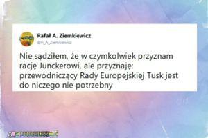 """Ziemkiewicz atakuje: """"Tusk jest do niczego nie potrzebny"""""""