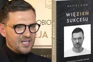 """Zień promuje książkę: """"Niczego w życiu nie żałuję. Dzięki błędom jestem silniejszy!"""""""