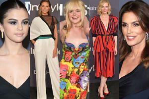 Zagraniczne gwiazdy wręczają sobie nagrody: Gomez, Klum, Blanchett, Crawford, odmieniona Fanning... (ZDJĘCIA)