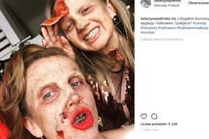 """Zielińska i Rogalska """"wygłupiają się"""" w halloweenowym makijażu (FOTO)"""