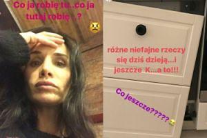 Viola Kołakowska przeżywa. Odpadły jej drzwi od szafki