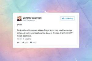 Jest śledztwo w sprawie przyjęcia łapówki przez Hannę Gronkiewicz-Waltz