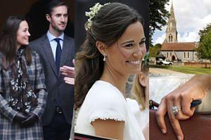 Szklany namiot, suknia-niespodzianka i wesele na 300 osób: Pippa Middleton wychodzi dzisiaj za mąż!