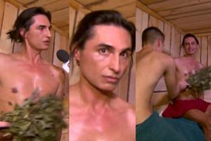 Żenada roku: Ivan Komarenko udziela wywiadu w rosyjskiej saunie (ZDJĘCIA)