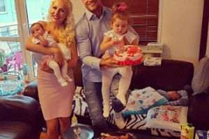 Eliza i Trybson świętują urodziny córki