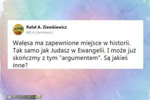 """Ziemkiewicz: """"Wałęsa ma zapewnione miejsce w historii. Tak samo jak Judasz w Ewangelii"""""""
