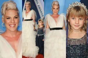 Pink z 6-letnią córką jak księżniczki na imprezie country (ZDJĘCIA)