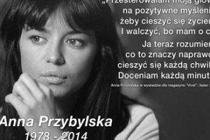 Anna Przybylska o życiu