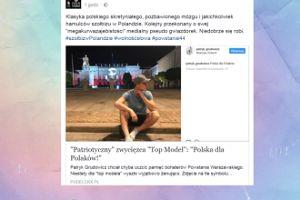 """Korwin-Piotrowska o Grudowiczu: """"Klasyka skretyniałego szołbizu w Polandzie"""""""