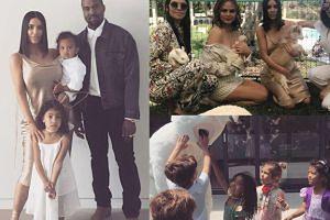 Wielkanocne przyjęcie u Kardashianów: owce, lamy i Kanye przebrany za królika (ZDJĘCIA)