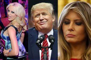 """Trump zdradzał Melanię... z GWIAZDĄ PORNO? """"Ma wiele do ukrycia"""""""