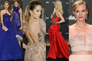 Zjawiskowe kreacje na gali w Berlinie: Rita Ora, Claudia Schiffer, Diane Kruger... (ZDJĘCIA)