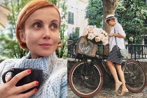 """Ciężarna Zielińska na rowerze oburzyła fanki: """"W ciąży się na rowerze nie jeździ!"""""""
