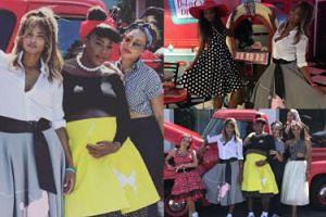 Tak wyglądało baby shower Sereny Williams: Longoria, Ciara i Rowland w stylu lat 50.! (ZDJĘCIA)
