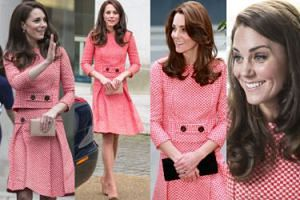 Kate Middleton DRUGI RAZ w tej samej stylizacji za 26 tysięcy! (ZDJĘCIA)