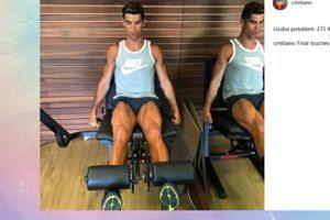 Ronaldo na siłowni (FOTO)