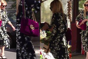Olejnik zabrała nową torebkę Gucci.... do warzywniaka (WIDEO)