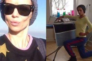 Anna Przybylska prywatnie: Filmy z Instagrama