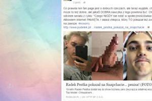 Radek Pestka pokazał penisa. Korwin Piotrowska komentuje