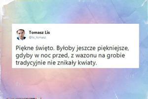Tomasz Lis ofiarą hien cmentarnych