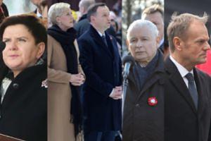 Politycy na obchodach Święta Niepodległości: Szydło, Duda z żoną, Kaczyński i... Tusk (ZDJĘCIA)