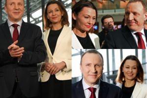 Anna Popek pozuje z Jackiem Kurskim w TVP (FOTO)