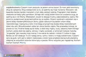 """Maja Bohosiewicz: """"Bardzo bardzo marzyłam o tym żeby założyć rodzinę"""""""