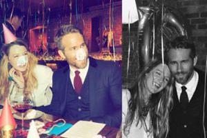 Blake Lively urządziła Reynoldsowi przyjęcie-niespodziankę! (FOTO)