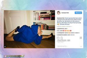 Kasia Warnke ćwiczy jogę w szpilkach