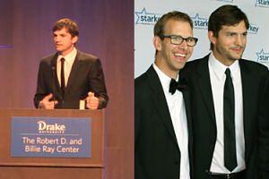 """Ashton Kutcher o bracie-bliźniaku porażeniem mózgowym: """"Konstytucja kłamie, nie stworzono nas równymi!"""""""