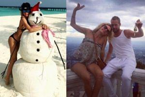 """Żona Hollywood"" i Rinke Rooynes pojechali na urlop (FOTO)"