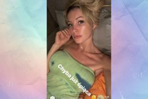 Śpiąca Gąska pozuje na Instagramie