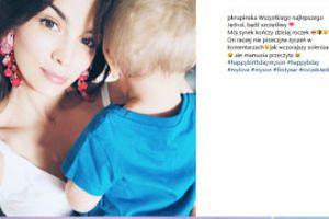 Paulina Krupińska świętuje urodziny synka