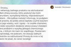 Zdenerwowana Beata Tadla odpowiada oszustowi