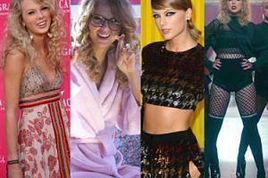 """Od niewinnej gwiazdy country do """"królowej węży"""". Tak zmieniała się Taylor Swift (ZDJĘCIA)"""