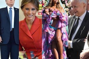 ZDJĘCIA TYGODNIA: Beyonce pokazała bliźniaki, Trumpowie w Paryżu, miesięcznica smoleńska