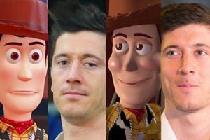 """Robert Lewandowski czy Chudy z """"Toy Story""""? (ZDJĘCIA)"""
