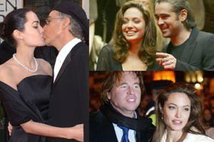 WSZYSTKIE ZWIĄZKI Angeliny Jolie... (ZDJĘCIA)
