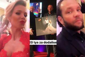"""Nositorba wylicytował obraz z Rabczewską! """"20 tysięcy za DODA LISĘ!"""""""